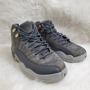 Air Jordan 12 Retro GS Dark Grey